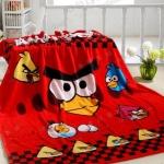 ผ้าห่ม Angry Birds แดง 3