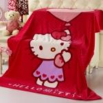 ผ้าห่ม Kitty ลูกโป่งหัวใจ 3