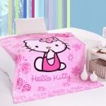 ผ้าห่ม Kitty ชมพู 1