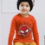 เสื้อยืด Hotpet สกรีนลาย BATMAN (สีส้ม)