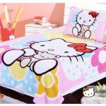 ผ้าห่ม Kitty อุ้มหมี 4