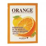 {Pre Order} ** Skinfood Everyday Facial Mask Sheet #Orange [1000w] : แผ่นมาส์คหน้า สำหรับทุกวัน บำรุงผิวด้วยสารสกัดจากส้ม เพื่อผิวกระจ่างใส สดชื่น