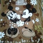 ผ้าห่ม Mickey & Minnie น้ำตาล