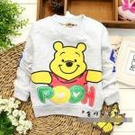เสื้อกันหนาวลายหมีพูห์ (ผ้าไม่หนา-ผ้าดีค่ะ)