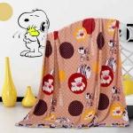 ผ้าห่มนาโน Snoopy น้ำตาล