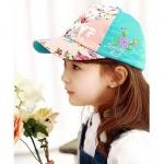 หมวกคุณหนูลายดอกไม้ Lemon Kid