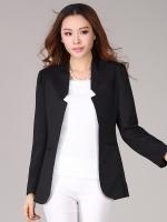 ♥พร้อมส่ง♥ สูทแจ็คเก็ตสไตล์เกาหลี สีดำ XL 2XL 4XL