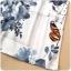 ชุดกี่เพ้าสั้นไซส์ใหญ่สไตล์ฮั่น แขนล้ำ ลายดอกไม้และผีเสื้อ (XL,2XL,3XL) thumbnail 4
