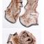 ผ้าพันคอแฟชั่นลายป่า Aavatar forest : สีน้ำตาลอ่อน CK0027 thumbnail 2
