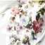 เสื้อยืดสีขาวพิมพ์ลายดอกไม้ตรงหน้าอกแขนยาว (XL,2XL,3XL,4XL,5XL) thumbnail 3