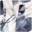 ชุดกี่เพ้าสั้นไซส์ใหญ่สไตล์ฮั่น แขนล้ำ ลายดอกไม้และผีเสื้อ (XL,2XL,3XL) thumbnail 5