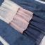 เสื้อเย็บหลอกสองชิ้นคอกลมแขนยาว สีน้ำเงินเข้ม (XL,2XL,3XL,4XL) thumbnail 5