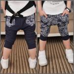 กางเกงสามส่วน หางนกยูง สุดแนว 5 ตัว/แพค *ส่งฟรี*