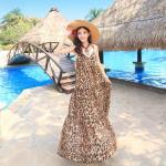 Summer Maxi Dress-Chiffon   ซัมเมอร์เดรสผ้าชีฟองพิมพ์ลาย แฟชั่นเกาหลี