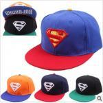 หมวก โลโก้ Super Man *01* คละ 4 สี 4 ชิ้น/แพค *ส่งฟรี*