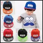 หมวก โลโก้ Batman *01* คละ 5 สี  5 ชิ้น/แพค *ส่งฟรี*