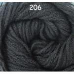 ไหมพรมดาหลา สีพื้น สี 206