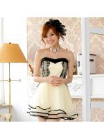 ชุดงานเลี้ยงแต่งงาน สีแชมเปญ XL 2XL 3XL