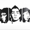 Pre Order / BIG BANG : OFFICIAL GOODS - 2013 Alive Tour REMEMBER WALL STICKER