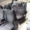 Toyota Wish เบาะชุดToyota Wish 3แถว ลายเคฟล่าสีดำ,เงิน สเป๊กญี่ปุ่น แถวกลางนั่งได้3คน หัวหมอนเว้าล่าง เบาะโตโยต้า วิช เบาะWish เบาะโตโยต้าวิช เบาะวิช สีดำ มีท้าวแขน2ข้าง ราคาตามข้างล่างนี้เป็นราคาต่อชุด3แถวนะครับ