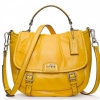 Coach new MADISON LEATHER ANNABELLE # 21223 สี SV / CITRON