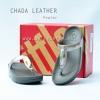 **พร้อมส่ง** รองเท้า FitFlop Chada (Leather) : Pewter : Size US 5 / EU 36