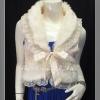 มี3สีดูด้านใน เทา ดำ ครีมโอรส สวยสไตล์สาวเกาหลี TB606 :Gorgeous Fur Trend :เสื้อกั๊กเฟอร์สุดเก๋ แต่งลูกไม้ ลุคสาวเกาหลี ด้านในซับอย่างดีด้วยซาติน