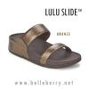 **พร้อมส่ง** รองเท้า FitFlop Lulu Slide : Bronze : Size US 9 / EU 41