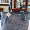 COACH Gallery Optic Signature East West Tote # 17881