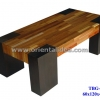 โต๊ะกลางไม้ลายปาร์เก้ TBG-281