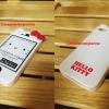 เคสไอโฟน4/4s kitty สีขาว