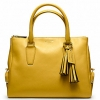 Coach legacy archival top zip satchel # 21192 BRASS / SUNFLOWER