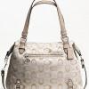 กระเป๋า Coach 3 COLOR SIGNATURE ALEXANDRA # 17580 สี Silver / Ivery