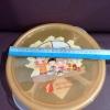 กล่องอาหาร9นิ้วโอวันตินมีช่องแบ่ง