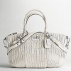 Coach Madison Gathered Leather Sophia Satchel # 15942 PARCHMENT