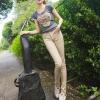 กางเกงยีนส์ยืดสีสดใสสไตล์เกาหลี(เกรดA)