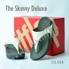 **พร้อมส่ง** FitFlop The Skinny Deluxe : Silver : Size US 7 / EU 38