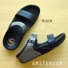**พร้อมส่ง** FitFlop AMSTERDAM : Black : Size US 5 / EU 36