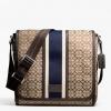 Coach Signature Jacquard Stripe Map Bag # 70806