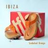 **พร้อมส่ง** รองเท้า FitFlop IBIZA : Sunbaked Orange : Size US 7 / EU 38