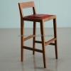 เก้าอี้บาร์เบาะหนังวัวแท้ CBR -01