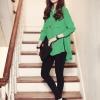 เสื้อเชิ้ตแขนยาวแฟชั่นเกาหลี (เกรดA)