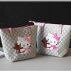 กระเป๋า gucci bag kid ลาย kitty 2 ใบ 2 สี/แพค **ส่งฟรี**