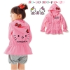 เสื้อกันหนาวลาย kitty สีชมพูอ่อน ไซส์ 80 สำเนา