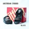 **พร้อมส่ง** FitFlop AMSTERDAM STUDDED : Black : Size US 5 / EU 36