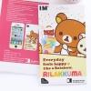 Pre Order / ฟิมล์ลายการ์ตูน ติดโทศัพท์  Iphone5 / 4 , 4S