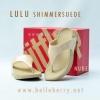 **พร้อมส่ง** New 2015 !! FitFlop LULU Shimmer : Nude : Size US 6 / EU 37