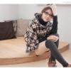 เสื้อกันหนาวผ้าวูลลายสก็อตแฟชั่นญี่ปุ่น (เกรดA)
