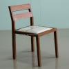 เก้าอี้ไม้สักเบาะหนังแท้ CR-10