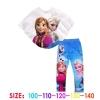 ชุดเจ้าหญิงหิมะ Frozen เสื้อค้างคาว+แลคกิ้ง มีไซส์ 100 110 120 130 140